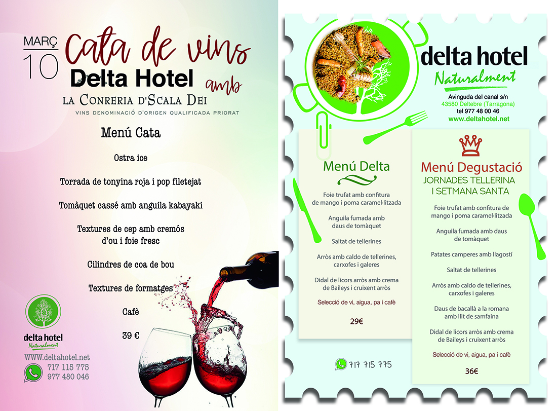 Plantilla anuncio delta hotel març